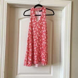 Lulu's red floral dress - Small